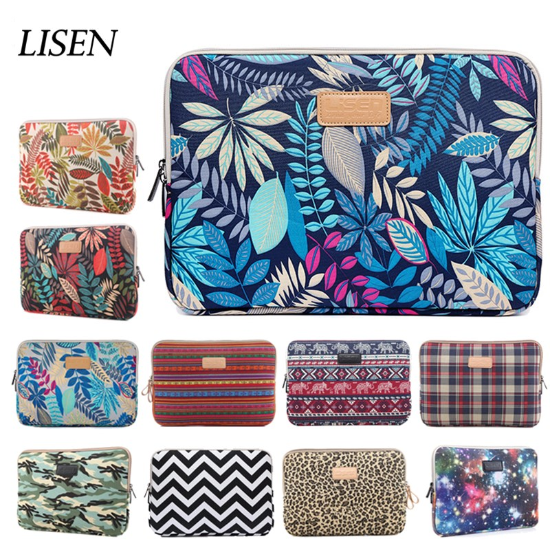 Sleeve Case For Macbook Air Retina Pro 11 12 13 14 15 Laptop Bag 15.6 Notebook For Xiaomi Ipad 2018 Tablet Mini Air 5 6 Cover