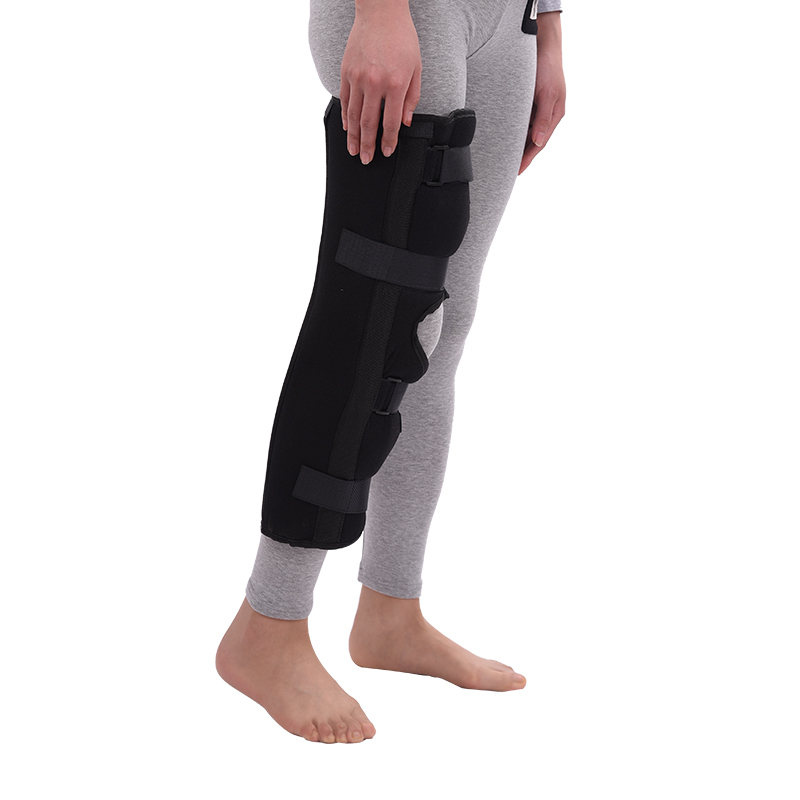 Articulación de la rodilla de la pierna stent con un fijo engranaje ...