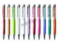 Flattop Crystal Ballpoint Pen Print Logo Promotion Pen Ball point Pens