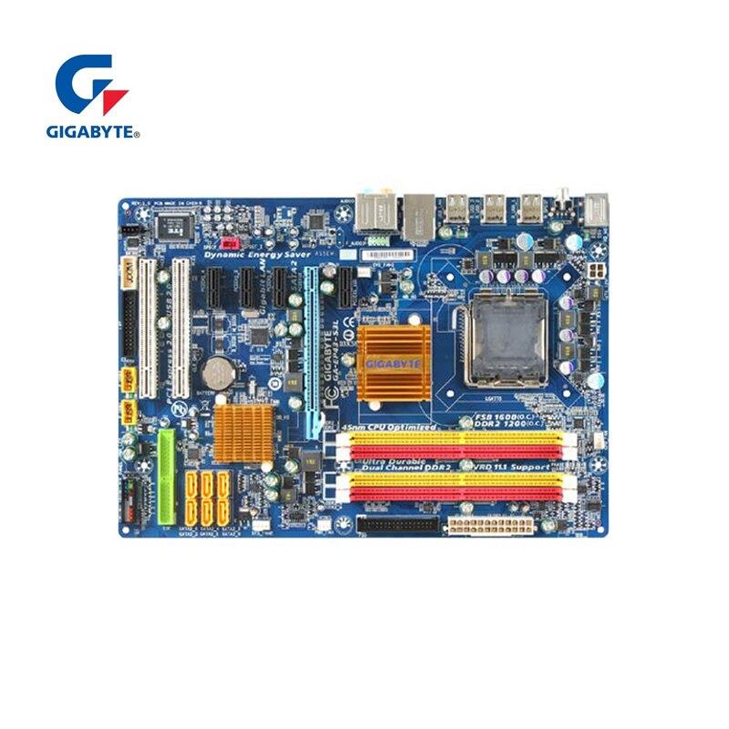 Gigabyt GA-EP43-S3L 100% Original Motherboard LGA 775 DDR2 Desktop Computer Mainboard 16GB EP43-DS3L UD3L Used Boards For P43
