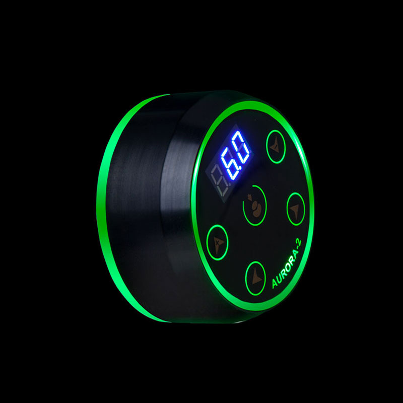 Nueva AURORA II LCD tatuaje fuente de alimentación profesional con adaptador de corriente para bobina y máquinas rotatorias de tatuaje - 3
