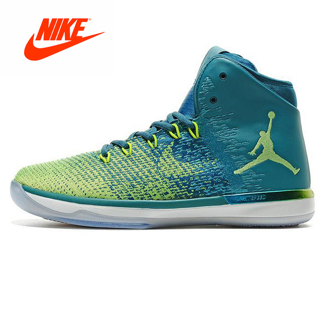 Original New Arrival Authentic NIKE Air Jordan XXXI AJ31 Men's Basketball Shoes Sports Shoes, White