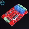 DC 8-32 V Inteligente Electrónica FRM03 $ number Canales de Relé de ciclo Del Módulo/Retardo/temporizador//Interruptor de Auto-Bloqueo/18 tipos de funciones