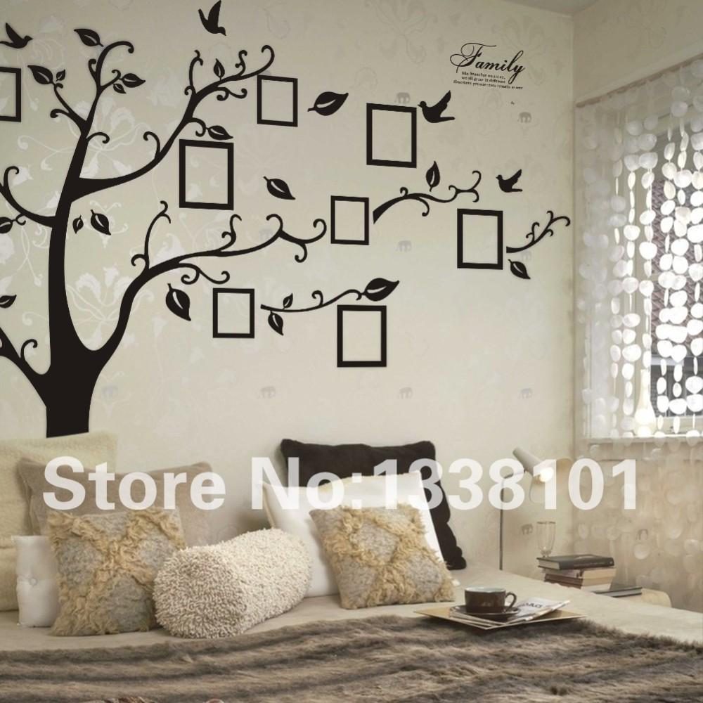 HTB1gv3bKXXXXXa3XXXXq6xXFXXXU - Free Shipping:Large 200*250Cm/79*99in Black 3D DIY Photo Tree PVC Wall Decals/Adhesive Family Wall Stickers Mural Art Home Decor