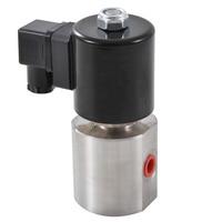 Нормально разомкнутый Нержавеющаясталь Материал электромагнитный клапан DN2 ~ 3, 1/4 , 300Bar высокое электромагнитный нагнетательный клапан NPT1