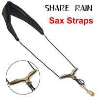 Comparte el diseño de la forma de la correa colgante del saxo Alto saxo saxor saxofón volador de gansos salvajes comodidad universal