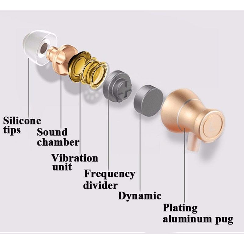 3.5mm Super Bass Stereo Earphone Heavy Low Earbuds audifonos with mic for Huawei Honor 8 Honor8 Lite xiaomi redmi fone de ouvido