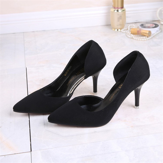 Women Ladies Shoes Hot Fashion Pointed Toe High Heels Sexy Red Bottoms Wedding Shoes Women's Pumps HSB03