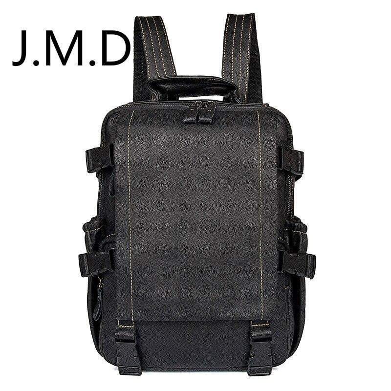 J.M.D 2019 nouvelle Version coréenne du sac à bandoulière doux visage en cuir véritable sac à dos de mode 2014