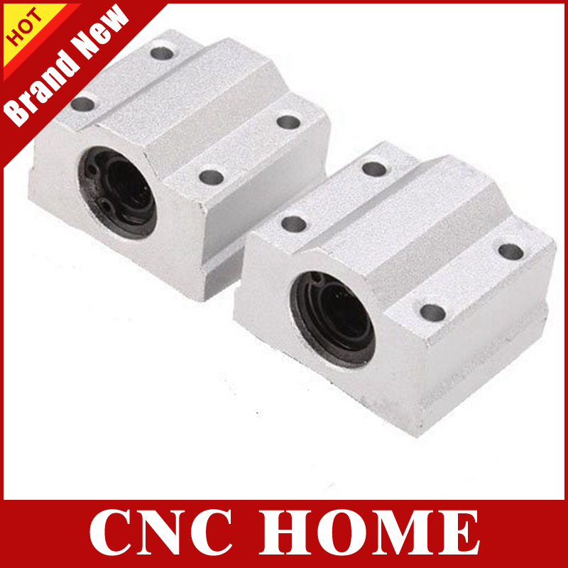 4 PCS SC13UU SCS13UU 13mm Linear Ball Bearing Pellow Block Linear Unit FOR CNC