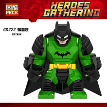Single sale GD215 green Batman legoing Marvel Batman series character model legoings children's educational building blocks toys(China)