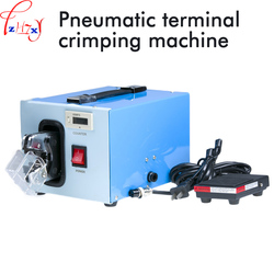 Pneumatyczne maszyna do zaciskania terminali AM-201 terminal naciśnij maszyna z wyświetlacz cyfrowy licznik 220 V 6 W