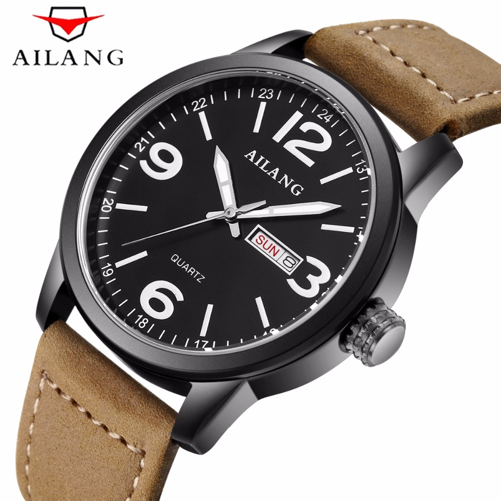 AILANG Super Luminous Sport Men Watches Auto Date Waterproof Military Quartz Man Outdoor Watch Army Male Clock Relogio Masculino weide new men quartz casual watch army military sports watch waterproof back light men watches alarm clock multiple time zone