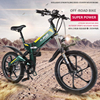 20 Inch Folding Electric Bicycle 48V Lithium Battery 350W Aluminum6 Spokes Wheel Electric Mountain Bike Off