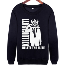 Casual Crew Neck Printed Hipster Sweatshirts