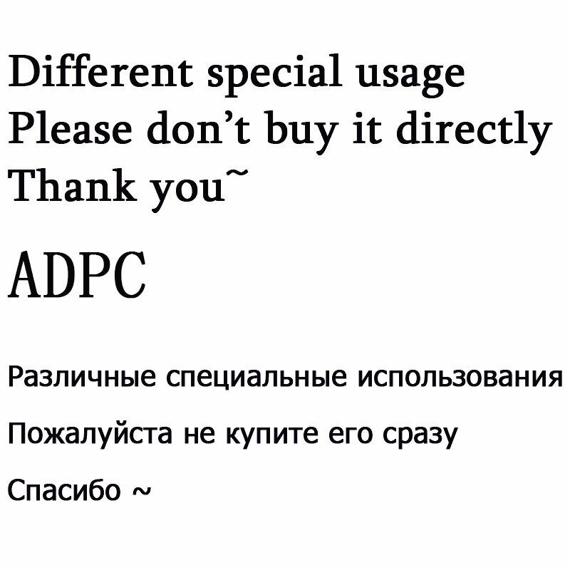 (ADPC) Gelieve niet direct kopen, Prijs voor Speciale diamanten Gebruik, als u nog nodig, neem dan contact ons eerste. dank u