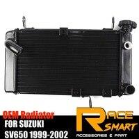 Радиатор для SUZUKI SV650 1999 2002 2000 2001 мотоцикл части охлаждения cooler высокий класс Алюминий SV 650 SV 650
