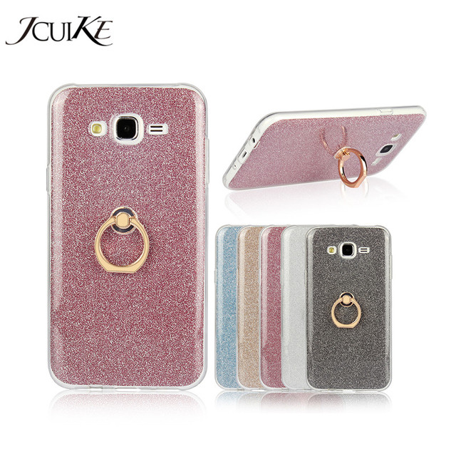 cheaper 39b98 147a0 US $2.6 |For Samsung Galaxy J7 2015 Case Silicone Glitter Soft TPU telefon  for Samsung J7 2015 J700F Phone Cases Holder Cover Fundas -in Half-wrapped  ...