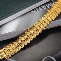 Cool   Bracelet & Bangle Wide Attractive Men Jewelry Gift 21cm long