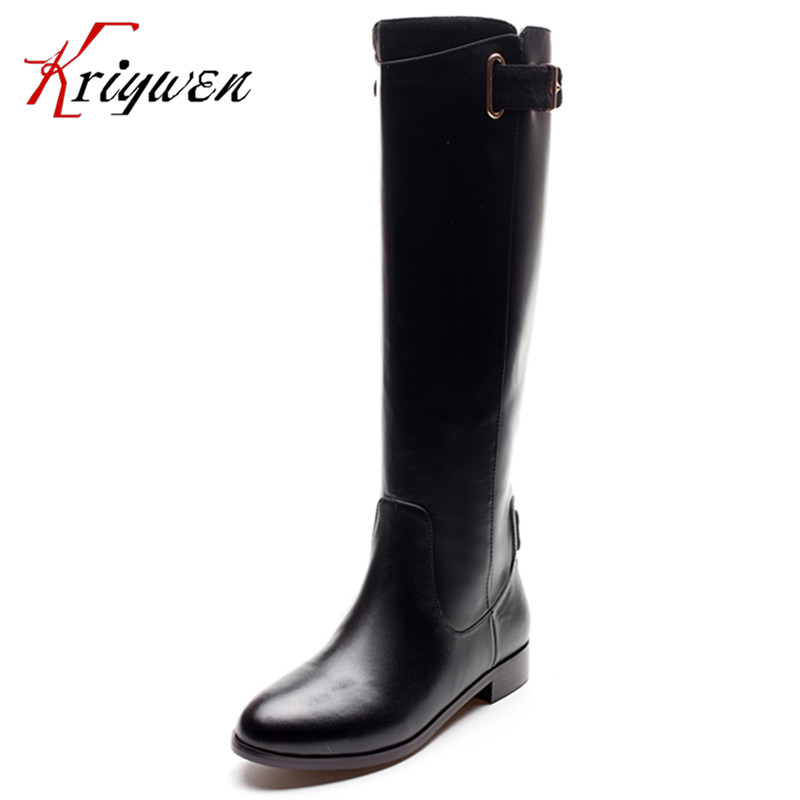 Cowhide leather genuine Women Over the Knee High Boots Party Sexy Lady Fashion Winter Woman Shoes motorcycle boots size 33-41 dijigirls new autumn winter women over the knee boots shoes woman fashion genuine leather patchwork long high boots 34 43