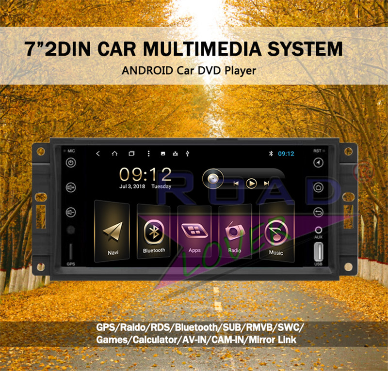 android 6.0 car radio For Jeep Grand Cherokee