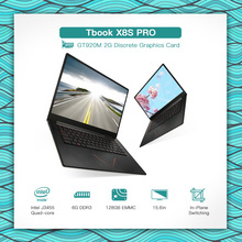 T-bao TBOOK X8S PRO Gaming Laptop Notebook PC 15.6in 1920*1080 1080P for Intel J3455 6G DDR3 128GB EMMC GT920M 2G Graphics card