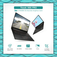 T bao TBOOK X8S PRO Gaming Laptop Notebook PC 15.6in 1920*1080 1080P for Intel J3455 6G DDR3 128GB EMMC GT920M 2G Graphics card