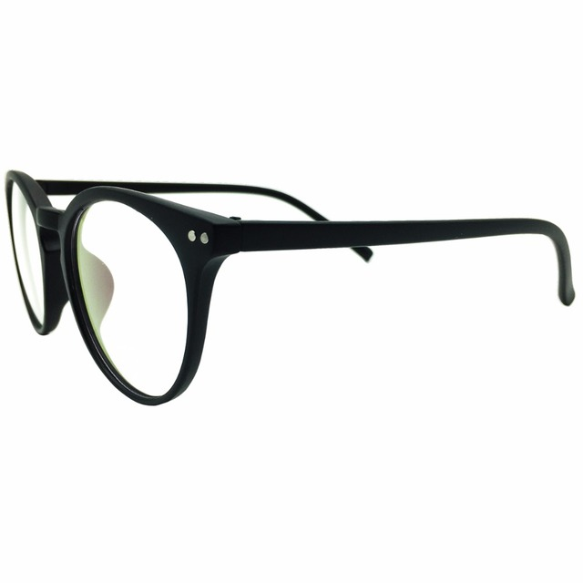 e75b9fa66f 1x retro lente transparente marcos Gafas para mujer para hombre borde  completo gafas de moda clásico