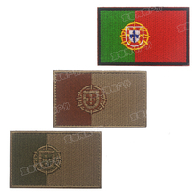 Embroidery Patch Spain Flag Morale Tactical Emblem Military Badges Appliques Embroidered Patches For Backpack Clothings