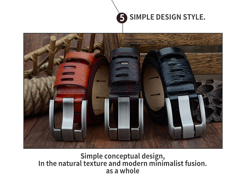 COWATHER 2017 QUALITY cow genuine luxury leather men belts for men strap male pin buckle BIG SIZE 100-130cm 3.8 width QSK001 12