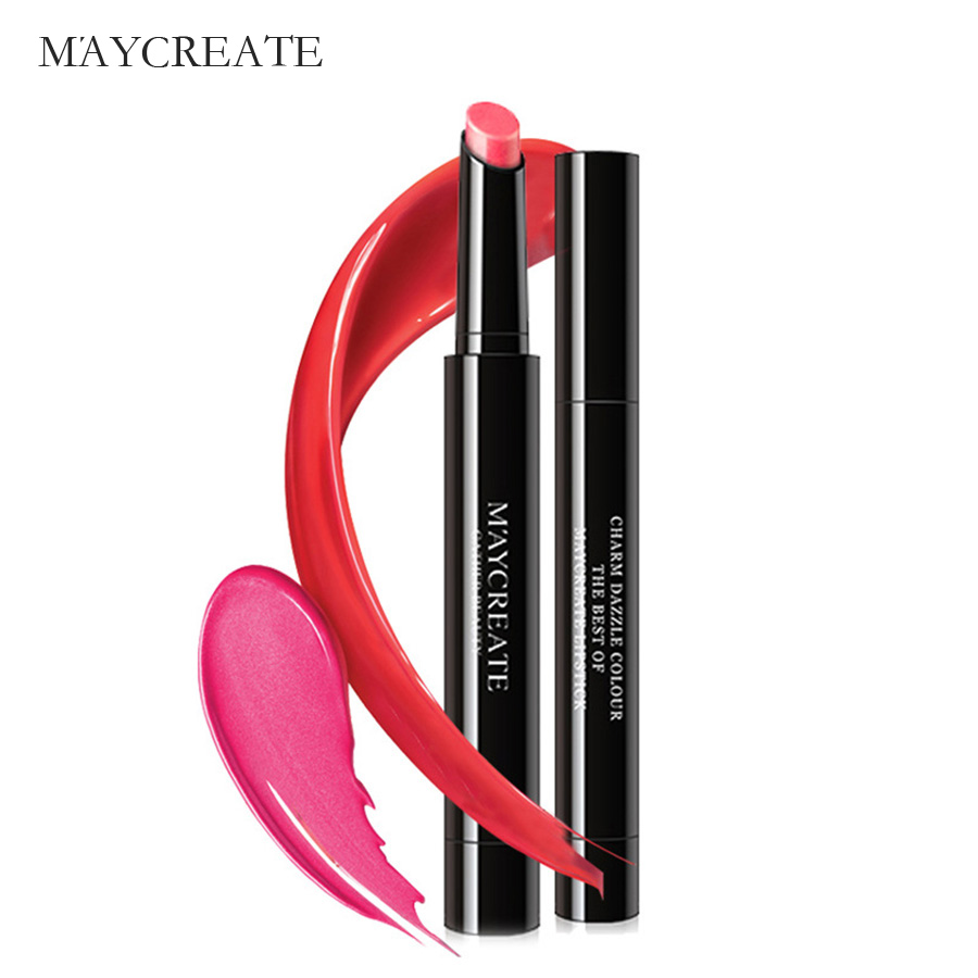 MayCreat Lipstick Sexy Long Lasting Waterproof Flower Lipstick Matte Pencils Moisturizer Lips Makeup Set Matte Lipstick Lips