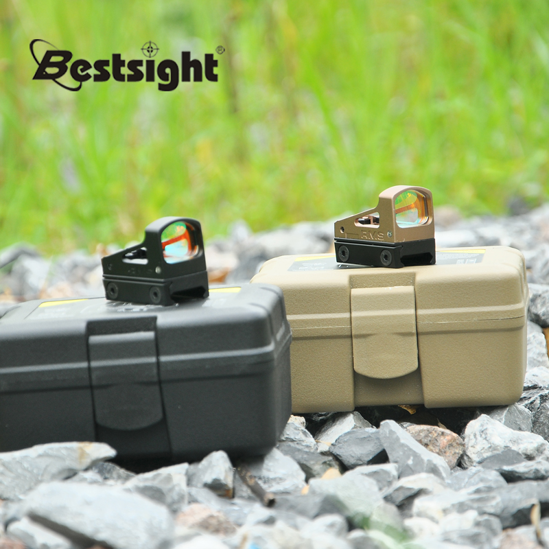 SOTAC M-006 Mini Red Dot Sight Scope Holographic Sight Hunting Scopes Reflex Sight With 20mm Weaver Rail For Airsoft
