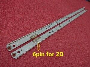 Image 1 - 2 PCS LED תאורה אחורית רצועת עבור Sasmung UE40ES6710 UE40ES5500 ue40es5500w UA40ES6100 UE40ES6800 BN96 21461A 21460A UE40ES6710U