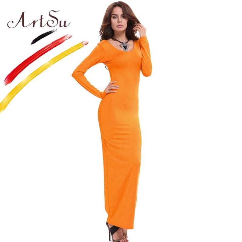 ArtSu Basic Pambıqlı Qadın Maksimum Don Vestidos 2017 Yeni Payız - Qadın geyimi - Fotoqrafiya 2