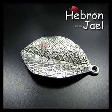 Free shipping(200pieces)Silver Jewelry Leaf Pendant(61#)wholesale and retail Retro Jewelry