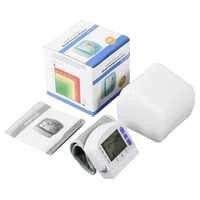 Brazo Digital automático Monitor de presión Arterial esfigmomanómetro automático medidor tonómetro para medir la presión Arterial