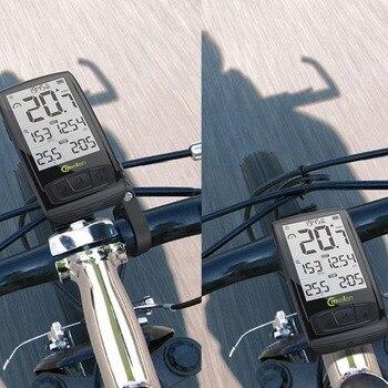 Meilan M4 велосипедный Тахометр беспроводной Велосипедный компьютер скоростной датчик для мотоцикла Bluetooth4.0 спортивный монитор сердечного рит...