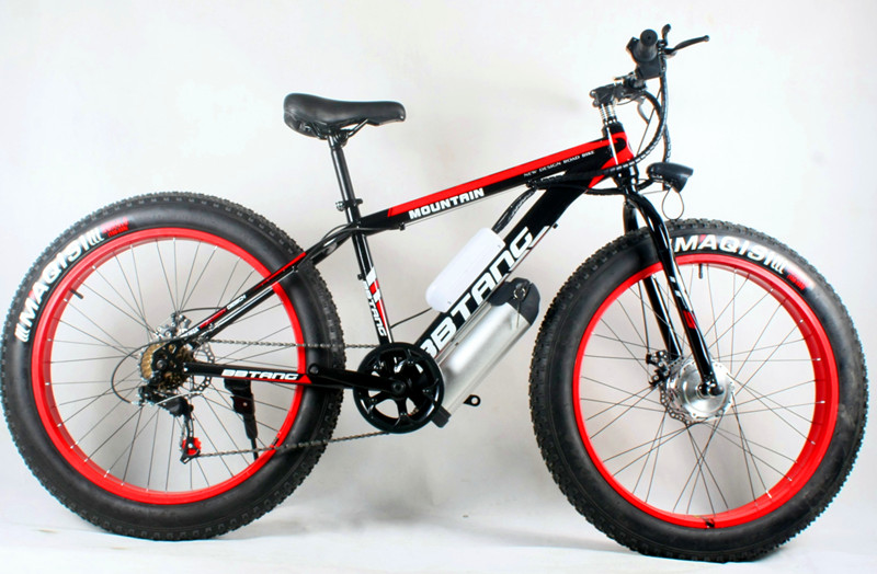 special price 26 inches of lithium battery electric bicycle beach rental winter motorcycle 350 w 500