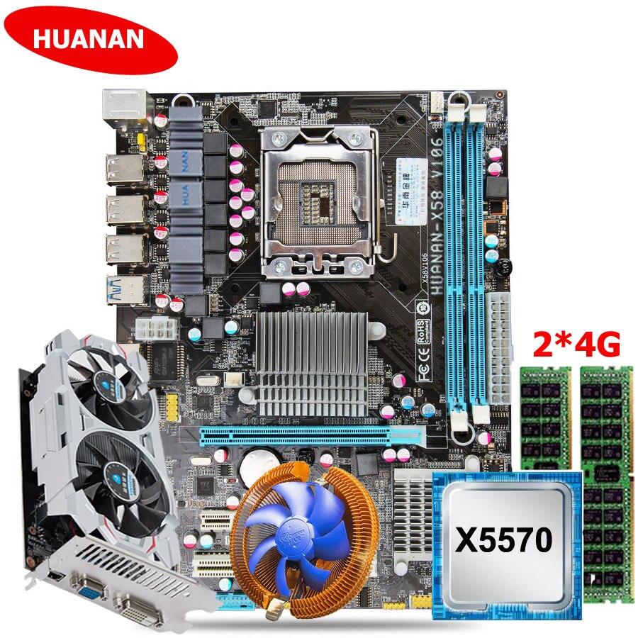 X58+X5570+24+cooler+GTX750Ti 2G