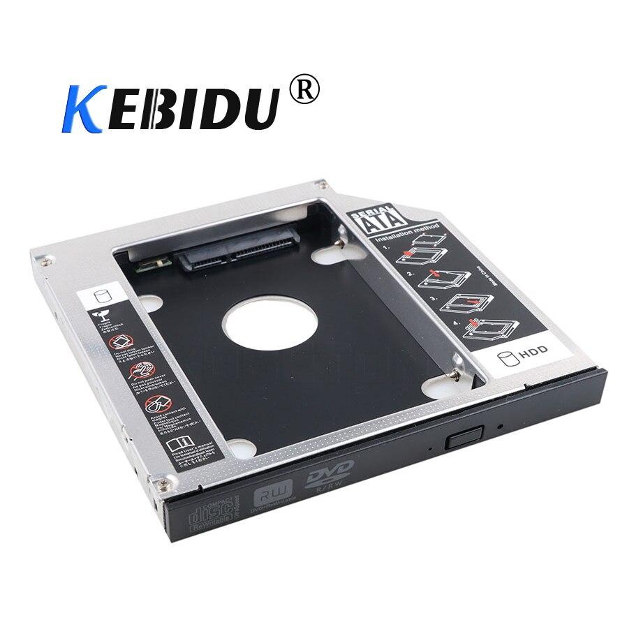 Kebidu ak sata 3.0 para sata 2nd hdd caddy 12.7mm ssd caso gabinete optibay para ibm lenovo thinkpad r400 r500 t420 t430 t520