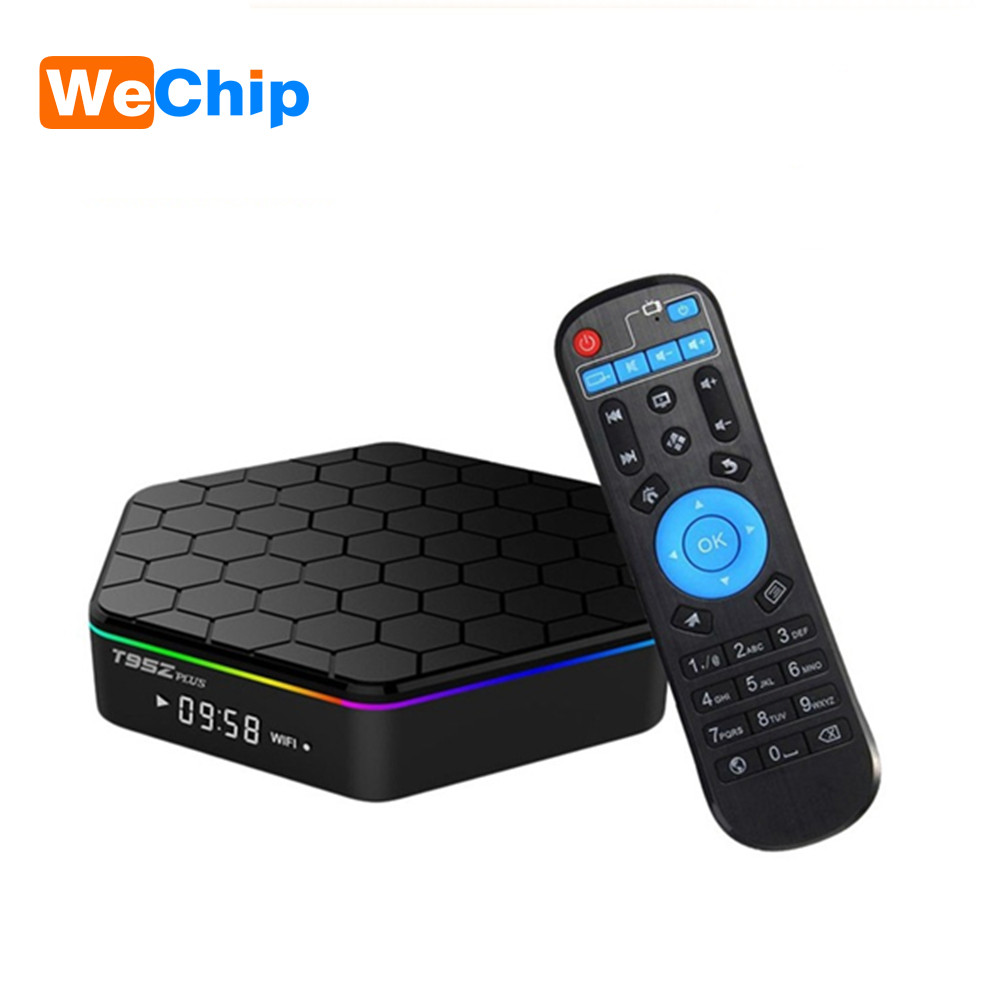 T95Z Plus 3GB 32GB Amlogic S912 Octa Core TV BOX Android 7.1 OS Smart TV BOX 2.4G/5GHz wireless WiFi BT4.0 4K pk H96 pro TV box 5pcs android tv box tvip 410 412 box amlogic quad core 4gb android linux dual os smart tv box support h 265 airplay dlna 250 254