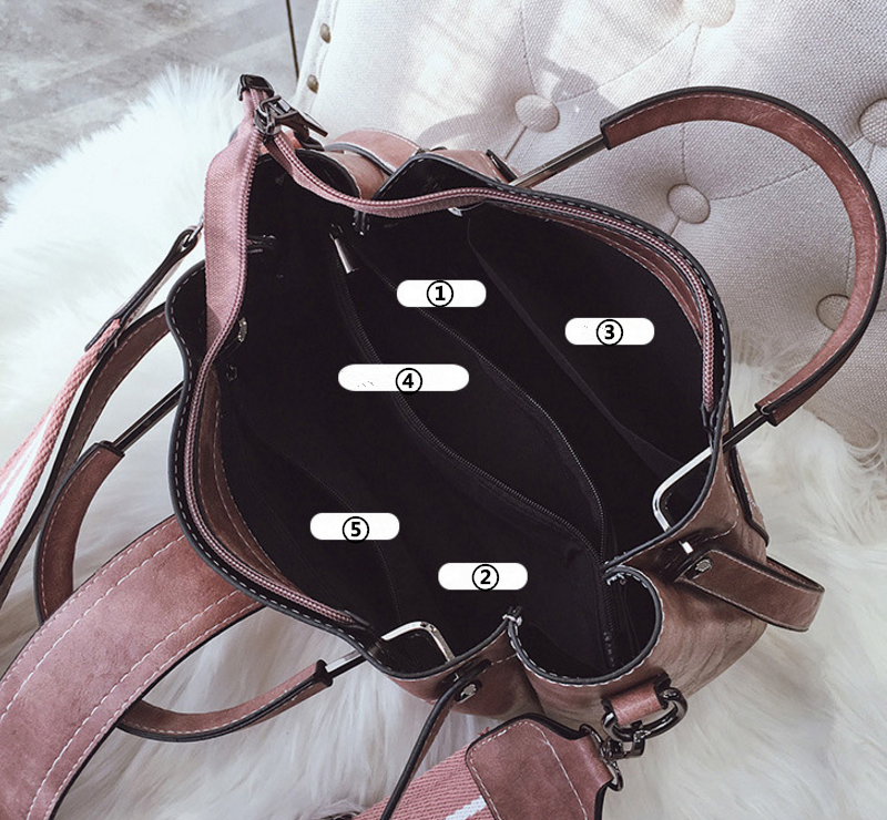 New European and American style vintage PU women handbag shoulder bag messenger bag 101