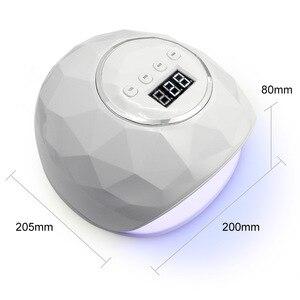 Image 5 - Esenail sèche ongles UV lampe à LED, lampe à double main, pour le traitement du vernis Gel, avec capteur et minuterie, affichage LCD, 39 pièces