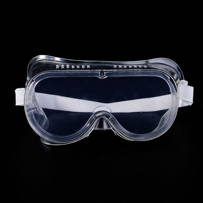 1 Pc Schutzbrille Entlüftet Gläser Augenschutz Schutz Lab Anti-fog Staub Klar Für Industrielle Labor Arbeit
