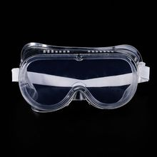 1pc Safety Goggles Vented Glasses Eye Protection Protective Lab Anti Fog Dust Clear For Industrial Lab Work