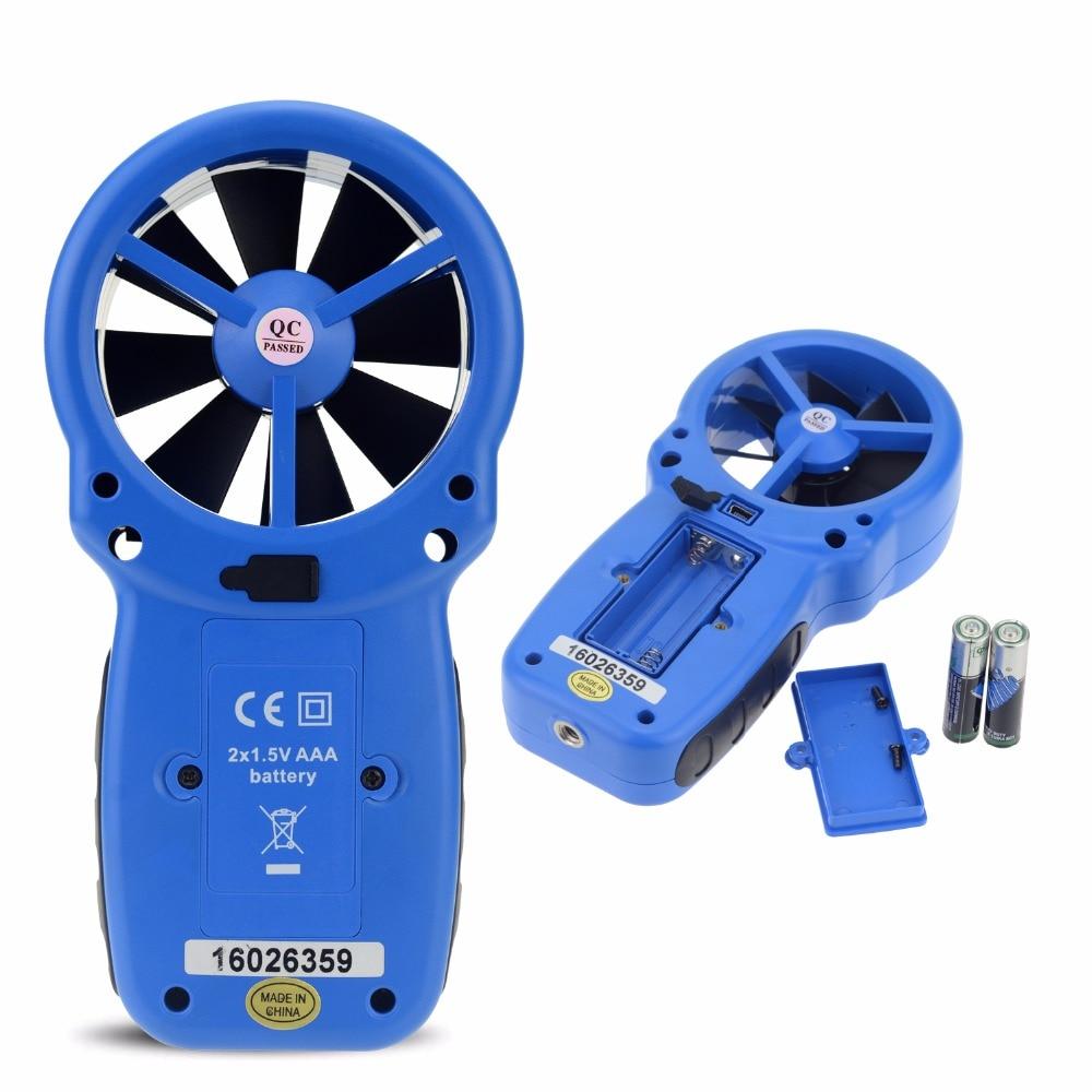 HoldPeak 866A digitális szélmérő - A szélsebességmérő méri a - Mérőműszerek - Fénykép 3