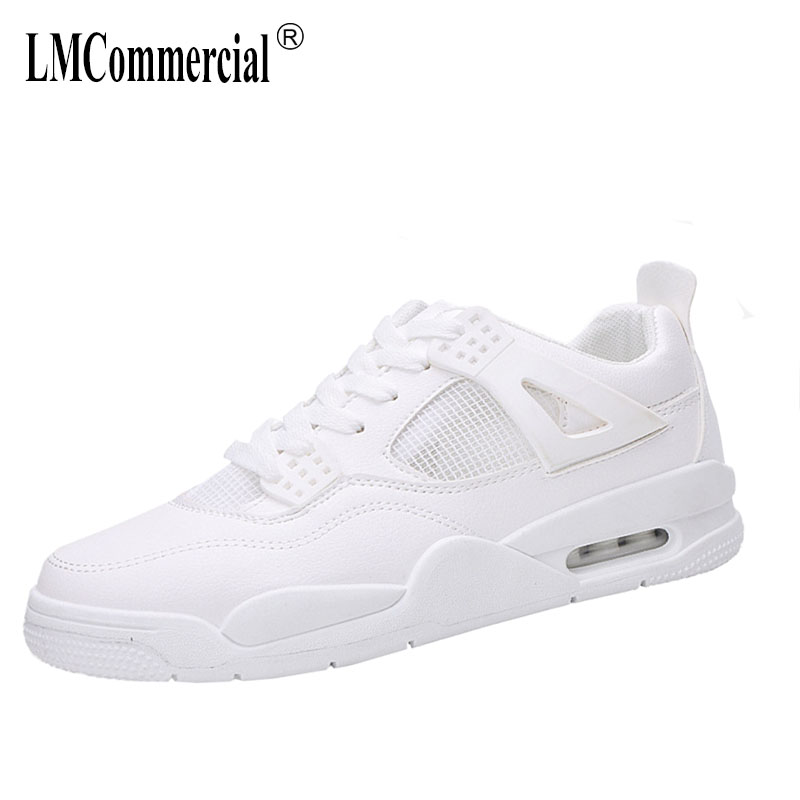 casual shoes men white all-match breathable sneakers spring and autumn summer 2018 fashion mens Leisure shoes Flats youth