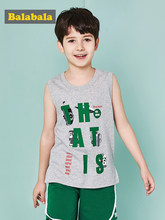 56a168a08366a Balabala bébé garçons filles réservoirs hauts enfants gilet été sans  manches t-shirts Camisoles enfant