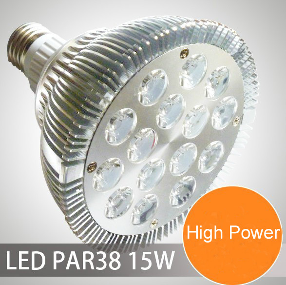 PAR38 15 w led luz 15 W led 85-265 V led par Luz