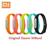 Обновленная версия Оригинал Сяо Mi mi Группа miband Спорт Bluetooth Xiaomi Группа Смарт Браслет Смарт-браслет для Android для Iphone